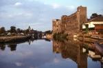 Newark Castle up river