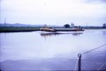 Gravel Barge under way (Loaded)
